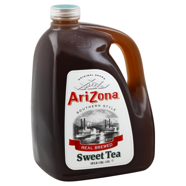 ARIZONA SWEET TEA SOUTHERN STYLE REAL BREWED 128 OZ 4 COUNT #ROCK VALUE PRODUCT ORDER BY SUNDAY EVENING'S ARRIVING NEXT WEEKS' TUESDAY FOR DELIVERY#