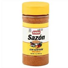 BADIA SAZON WITH SAFRON 7.0 OZ
