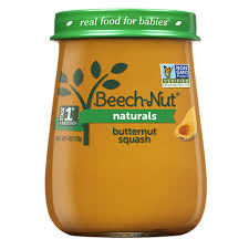 BEACH-NUT STAGE1 BUTTERNUT SQUASH 4OZ  10 COUNT***SHIP TO ORDER BY NOON MONDAY'S ARRIVING THE FOLLOWING MONDAY FOR DELIVERY***