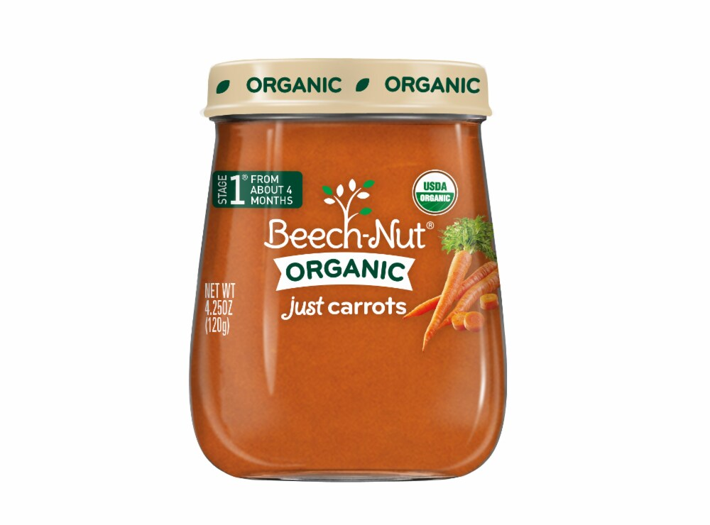 BEACH-NUT STAGE 1 JUST CARROTS  4OZ 10 COUNT #ROCK VALUE PRODUCT ORDER BY SUNDAY EVENINGS ARRIVING NEXT WEEK'S TUESDAY FOR DELIVERY#