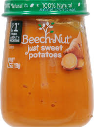BEACH-NUT STAGE1 JUST SWEET POTATOES 4OZ  10 COUNT #ROCK VALUE PRODUCT ORDER BY SUNDAY EVENINGS ARRIVING NEXT WEEK'S TUESDAY FOR DELIVERY#