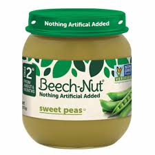 BEACH-NUT STAGE 2 SWEET PEAS 4OZ 10 COUNT***SHIP TO ORDER BY NOON MONDAY'S ARRIVING THE FOLLOWING MONDAY FOR DELIVERY***