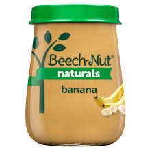 BEACH-NUT STAGE 1 BANANAS 10 COUNT #ROCK VALUE PRODUCT ORDER BY SUNDAY EVENINGS ARRIVING NEXT WEEK'S TUESDAY FOR DELIVERY#