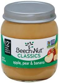 BEACHNUT STAGE 2 APPLE & PEAR10 COUNT #ROCK VALUE PRODUCT ORDER BY SUNDAY EVENINGS ARRIVING NEXT WEEK'S TUESDAY FOR DELIVERY#