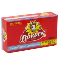 BORDEN CREAM CHEESE ORIGINAL 8 oz