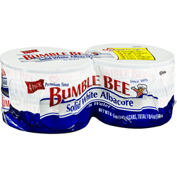 BUMBLE BEE SOLID WHITE ALBACORE IN WATER 4 PACK 5.0 OZ