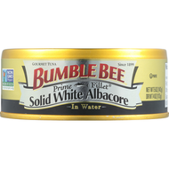 BUMBLE BEE PRIME FILLET SOLID WHITE ALBACORE TUNA IN WATER 4PK 5OZ