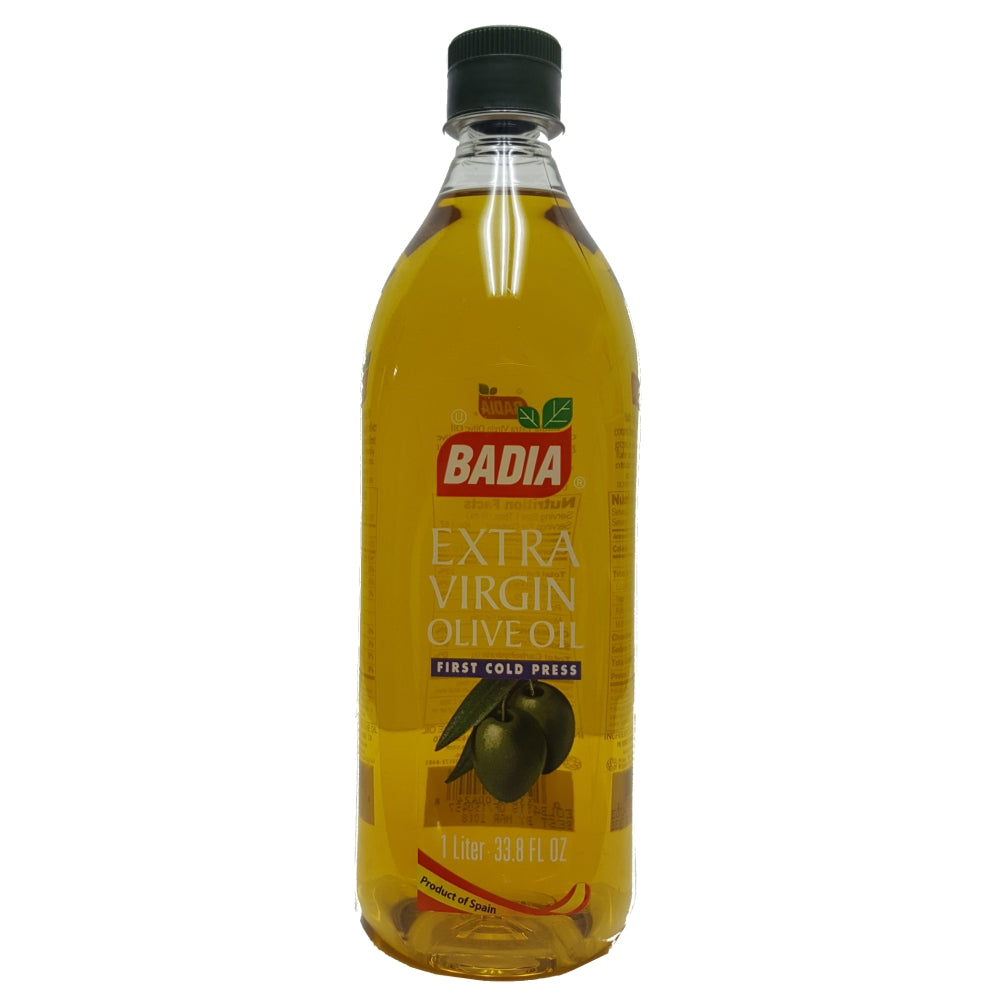 Badia Extra Virgin Olive Oil 1 Litre 33.8 Fl Oz