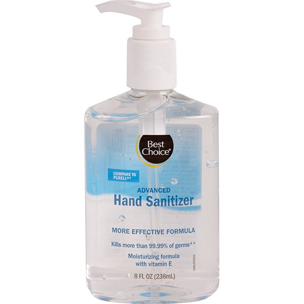 Best Choice Advanced Hand Sanitizer 8 oz