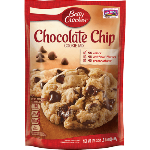 Betty Crocker Chocolate Chip Cookie Mix 17.5 Oz