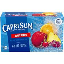 CAPRISUN FRUIT PUNCH 6.0 OZ 10 COUNT