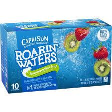 CAPRISUN ROARIN' WATERS STRAWBERRY KIWI 6.0 OZ 10 COUNT 4PK #ROCK VALUE PRODUCT ORDER BY SUNDAY EVENING'S ARRIVING NEXT WEEKS' TUESDAY FOR DELIVERY#