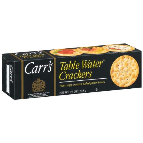 CARR'S TABLE WATER CRACKER 4.5 OZ