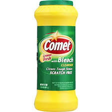COMET POWDER LEMON 17 OZ