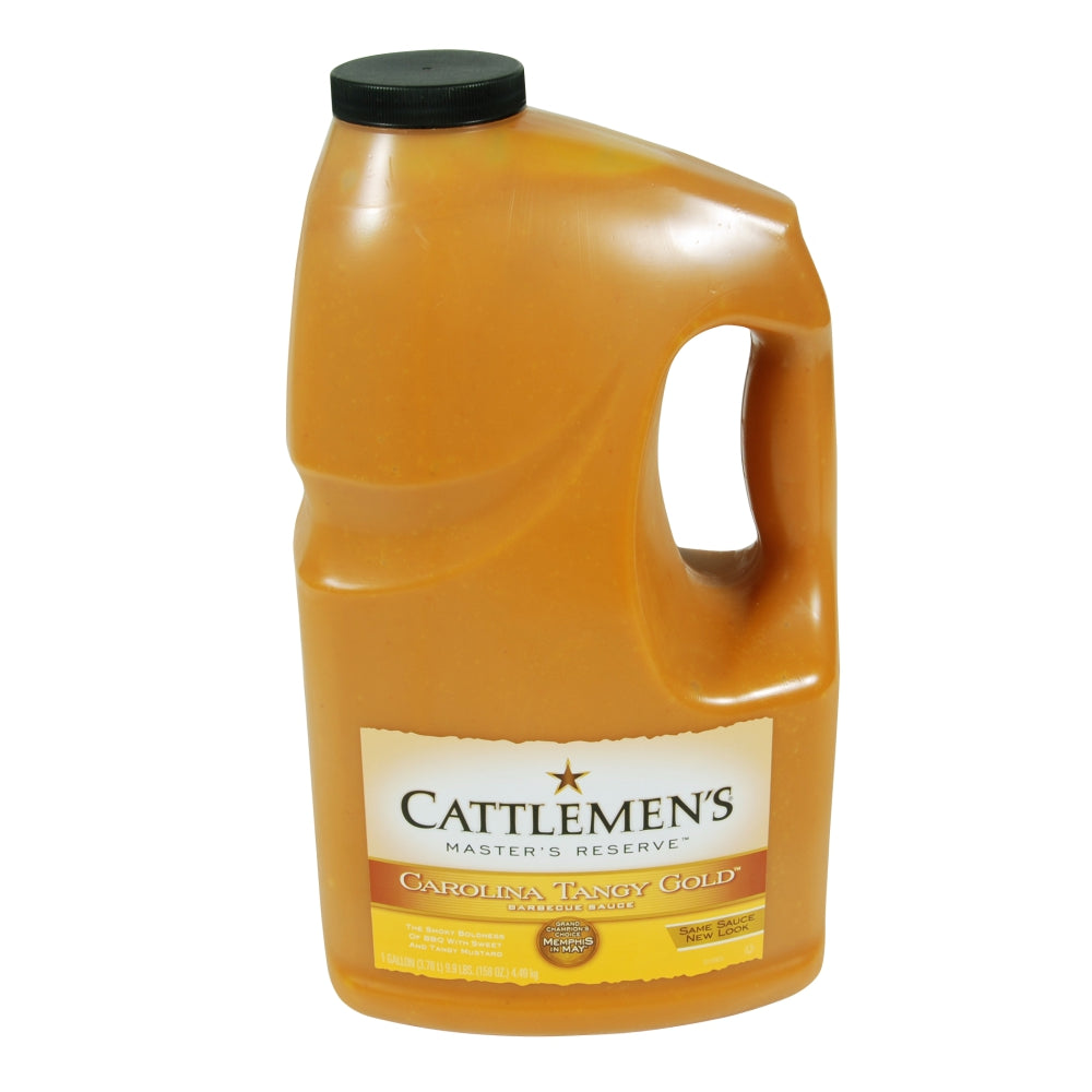 Cattlemens Tangy Gold Carolina Barbecue Sauce, 1 Gal Case 4ea