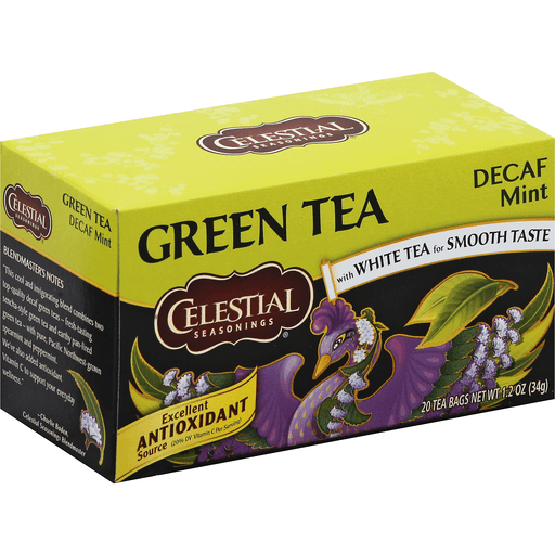 Celestial Seasonings Green Tea 20 Tea Bag