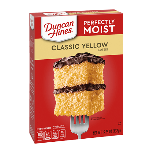 DUNCAN HINES CLASSIC YELLOW CAKE MIX 15.25 OZ