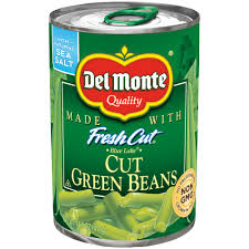 DEL MONTE CUT GREEN BEANS 14.5 OZ