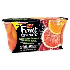 DEL MONTE FRUIT REFRESH GRAPEFRUIT & ORANGES 2PK 7OZ 6 CT***SHIP TO ORDER BY NOON ON MONDAY'S ARRIVING THE FOLLOWING MONDAY FOR DELIVERY***