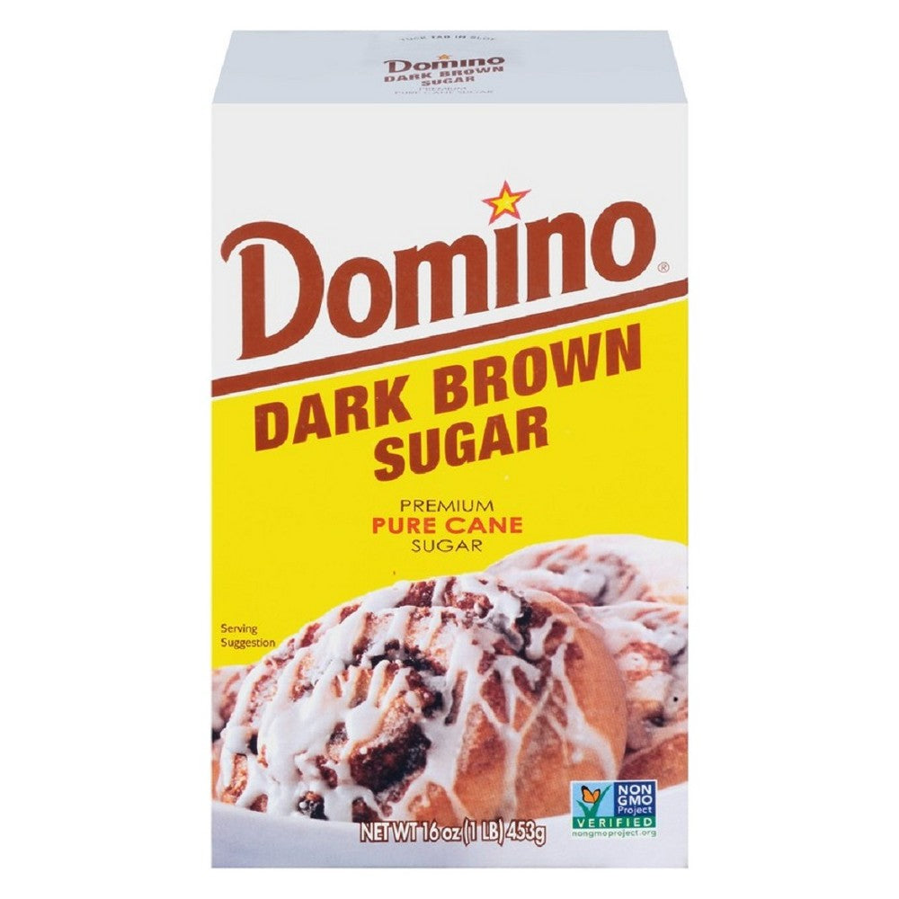 Domino Dark Brown Sugar 1 Lb