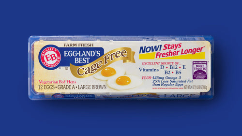 EGG-LAND'S BEST CAGE FREE GRADE A LARGE BROWN EGGS 12