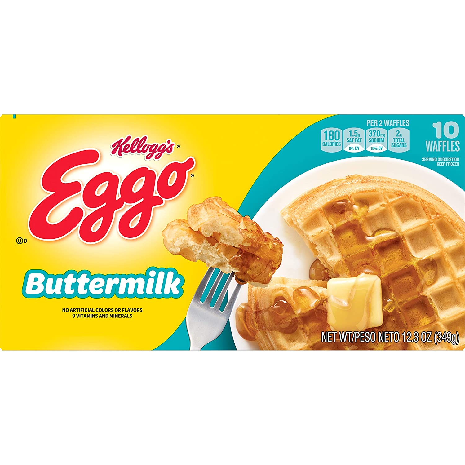 EGGO BUTTERMILK WAFFLES 10 CT