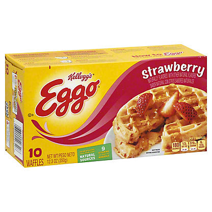 EGGO STRAWBERRY WAFFLES 10 CT