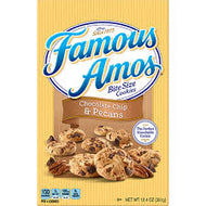FAMOUS AMOS CHOCOLATE CHIP PECAN COOKIES 12.4 OZ