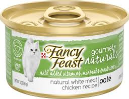 FANCY FEAST GOURMET NATURALS CHICKEN PATE 3OZ 12***SHIP TO ORDER BY NOON ON MONDAY'S ARRIVING THE FOLLOWING MONDAY FOR DELIVERY***