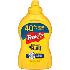 FRENCH'S CLASSIC YELLOW MUSTARD SQUEEZE 20 OZ