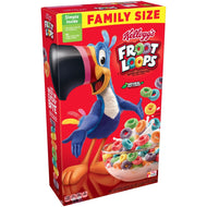 Froot Loops Kellogg's, Family Size, 19.4 oz