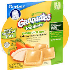 GERBER GRADUATES PASTA TURKEY RAVIOL 8 COUNT #ROCK VALUE PRODUCT ORDER BY SUNDAY EVENINGS ARRIVING NEXT WEEK'S TUESDAY FOR DELIVERY#
