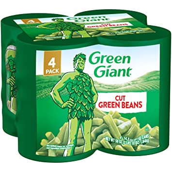 GREEN GIANT CUT GREEN BEANS 14.5 OZ 4PK