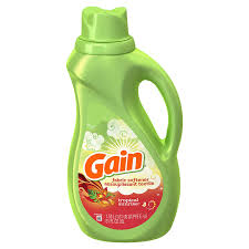 GAIN LIQUID FABRIC SOFTNER TROPICAL SUNRISE 51 FO 60LD
