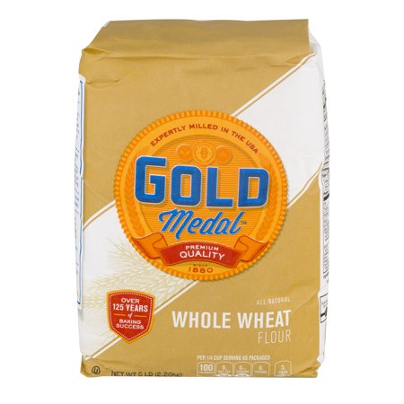 Gold Medal Whole Wheat Flour - All Natural - 80 oz