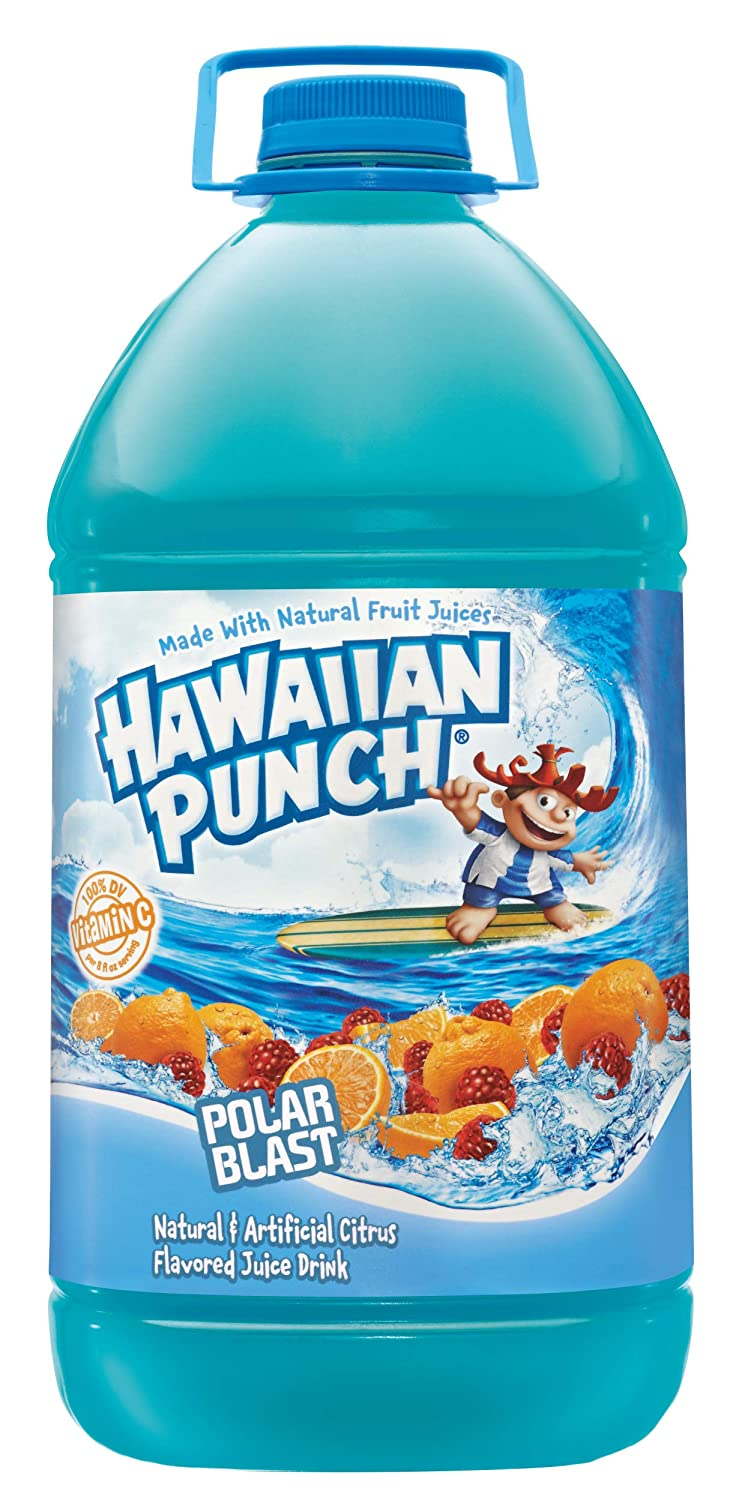 HAWAIIAN PUNCH POLAR BLAST 128 OZ 4 COUNT***SHIP TO ORDER BY NOON ON MONDAY'S ARRIVING THE FOLLOWING MONDAY FOR DELIVERY***