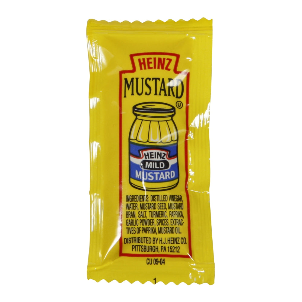Heinz Mustard, Packets, 0.2 Oz  200 Case