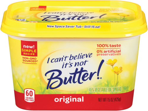 I CAN'T BELIEVE IT'S NOT BUTTER! 15 oz