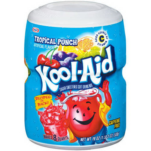 KOOLAID TROPICAL PUNCH 8 QT MIX