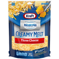KRAFT THREE CHEESE SHREDDED  8 OZ