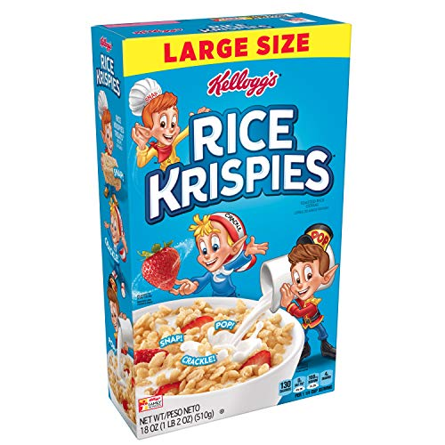 KELLOGGS RICE KRISPIES BREAKFAST CEREAL 18 OZ
