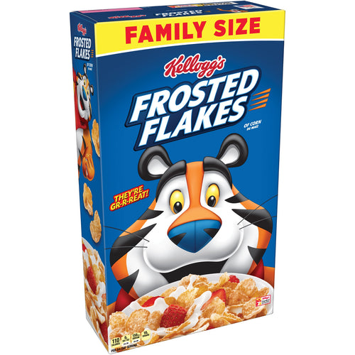 Kellogg's Frosted Flakes, Breakfast Cereal 24 oz