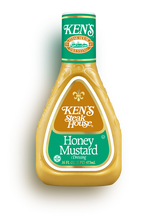 Ken's Steak House Honey Mustard Salad Dressing 16 oz