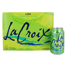 LACROIX SPARKLING KEY LIME 12 OZ 12 COUNT 2 PACK #ROCK VALUE PRODUCT ORDER BY SUNDAY EVENING'S ARRIVING NEXT WEEKS' TUESDAY FOR DELIVERY#