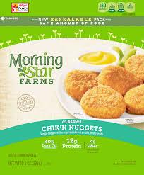 MORNING STAR CHIK'N NUGGETS 10.5 OZ ***SHIP TO ORDER BY NOON FRIDAY NOV 13th. ARRIVES FOR DELIVERY MON NOVEMBER 23rd***
