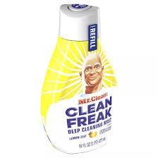 MR CLEAN CLEAN FREAK DEEP CLEANING MIST 3X POWER LEMON ZEST REFILL 16 OZ***SHIP TO ORDER BY EVERY SUNDAY ARRIVES THE NEXT WEEK'S TUESDAY FOR DELIVERY***