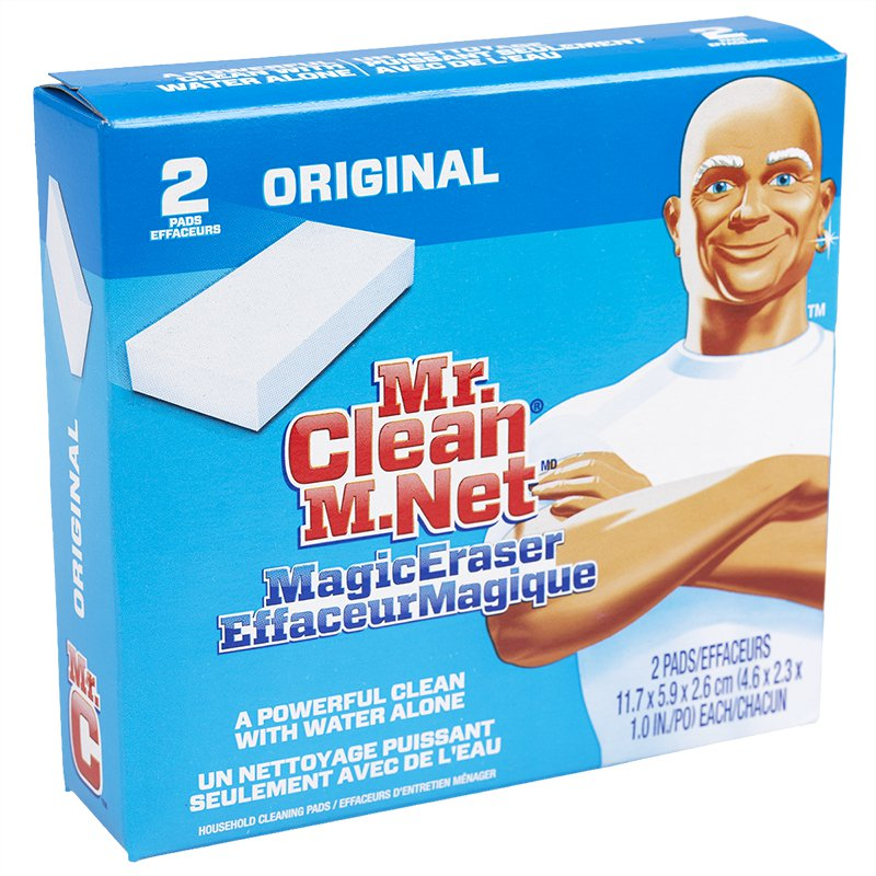 Mr Clean Cleaning Pads, Original 4 Ct Package,