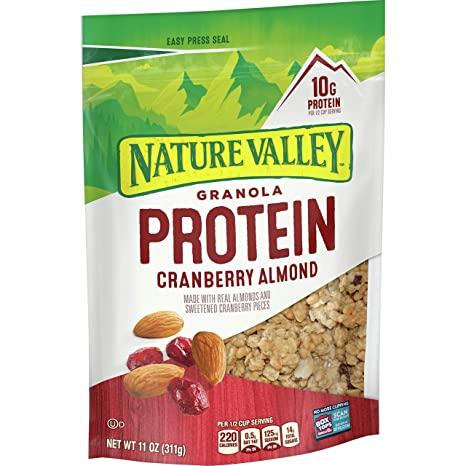 NATURE VALLEY PROTEIN CRUNCHY GRANOLA OATS & HONEY 11OZ***SHIP TO ORDER BY NOON ON MONDAY'S ARRIVING THE FOLLOWING MONDAY FOR DELIVERY***