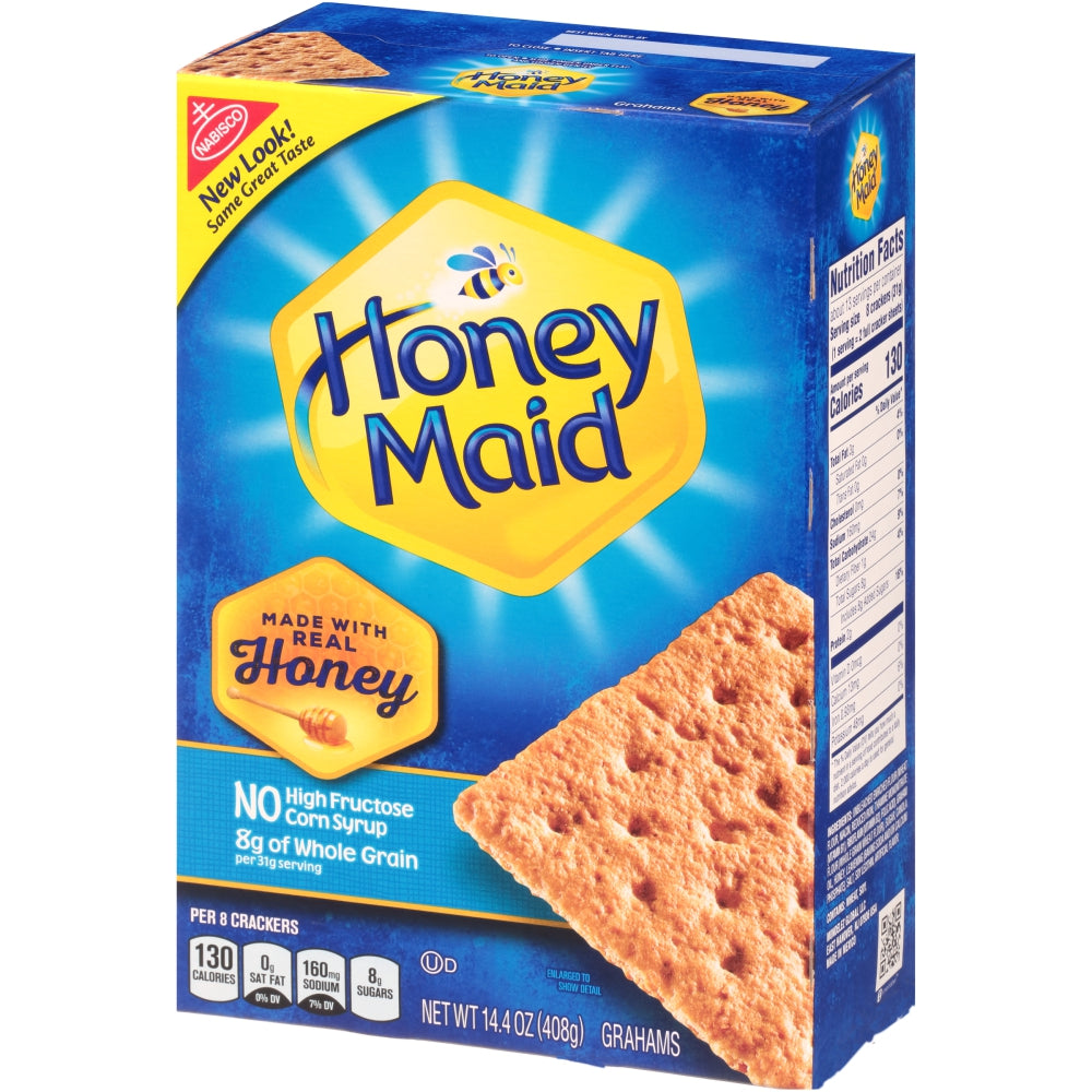 Nabisco Honey Maid Honey Graham Crackers, 14.4 Oz Box, 12/Case