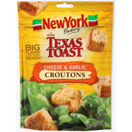 New York Texas Toast Cheese and Garlic Croutons 5 oz